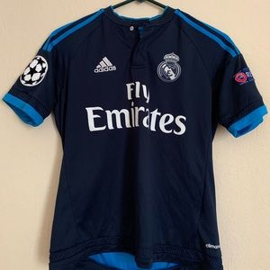 Real Madrid Champions League Jersey